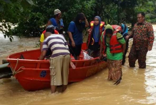 Jumlah mangsa banjir di Temerloh meningkat kepada 831 orang