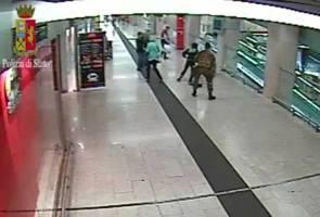 Man stabs policeman and soldier at Milan train station