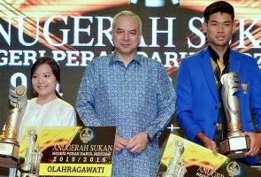 Muhammad Hakimi, Cheong Jun Hoong dipilih Olahragawan dan Olahragawati Perak
