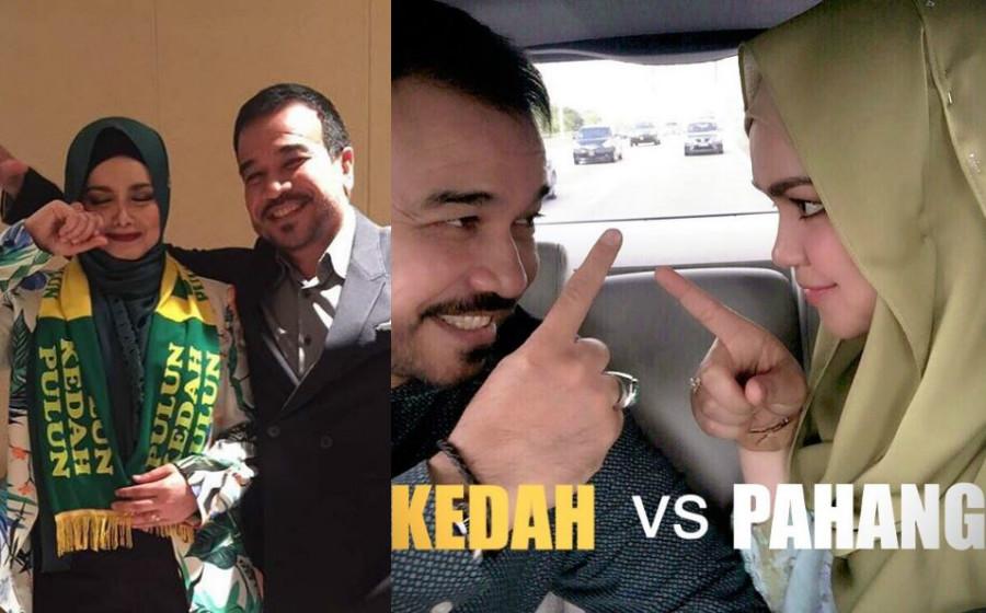 Kedah menang: Siti Nurhaliza menangis, peminat tuntut lagu Hang Pi Mana