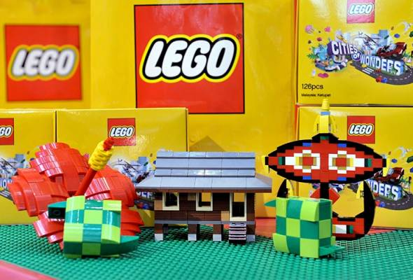Lego Malaysia creates history when it becomes the first company in Asia to produce four new mini builds featuring Malaysian culture.