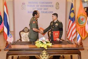 ToR will ensure Malaysia-Thailand Army ties further enhanced
