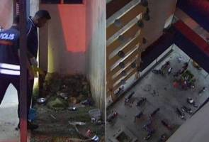 Puchong rape, robbery suspect dies in 12th floor plunge after evading police