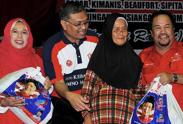 """This is not the first time UMNO has helped the people, including those in Sabah. We have been doing this for 71 years."""