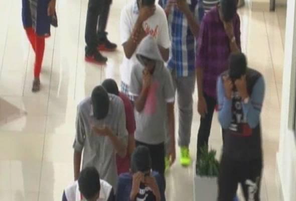 Geng 24: 52 remaja dituduh terlibat dalam perhimpunan haram