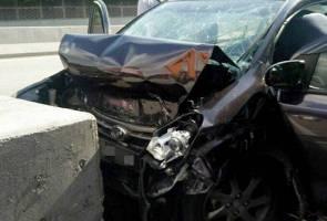 Wanita kerabat diraja Johor maut, anak cedera ringan akibat kemalangan