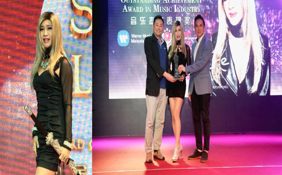 Jessie Chung anak Malaysia cipta sejarah di Taiwan, lebih popular dari Ed Sheeran