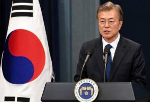 South Korea's President Moon says plans to exit nuclear power