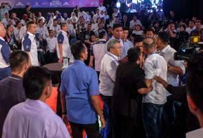 David Teo ditampar - kecoh di Seri Perdana
