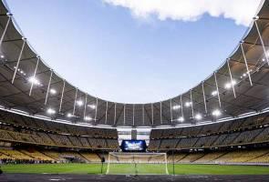 Keunikan wajah baharu Stadium Nasional Bukit Jalil pukau orang ramai