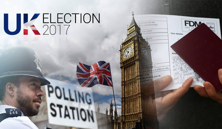[LIVE UPDATE] UK Election 2017