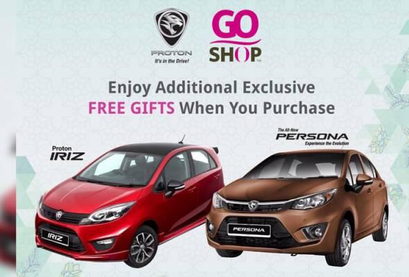 Astro Go Shop Sdn Bhd menawarkan kemudahan pembelian kereta Proton menerusi promosi eksklusif hasil kerjasama antara kedua-dua syarikat.