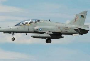 Pesawat TUDM Hawk 108 dilapor hilang di sempadan Pahang-Terengganu