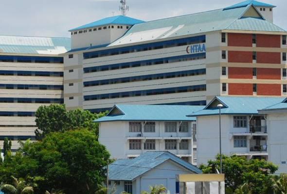 Siling wad Hospital Tengku Ampuan Afzan runtuh, waris pesakit cedera ringan