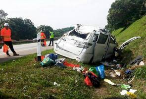Three in family perish in NSE accident near Rembau