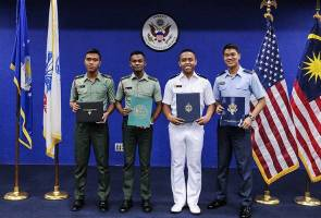 Four Malaysian students get scholarships to study at US military academy