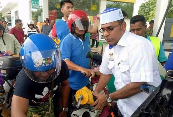 Sumbangan minyak percuma untuk keselesaan penduduk setempat
