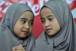 Anak yatim piatu Amira dan Aqila masih dibayangi kesedihan