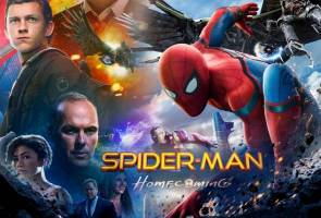 'Spider-Man: Homecoming' catat kutipan lebih RM15 juta di Malaysia