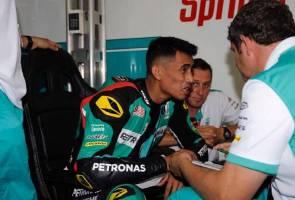 Moto2 Hafizh tamatkan perlumbaan di kedudukan ke-14 | Astro Awani
