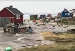 Empat hilang dalam kejadian tsunami di Greenland