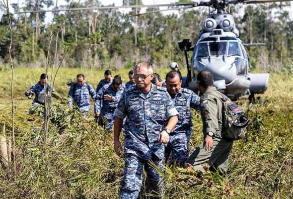 The Royal Malaysian Air Force (RMAF) radar detector has recorded the crash of the Hawk 108 fighter jet up to the final moment.