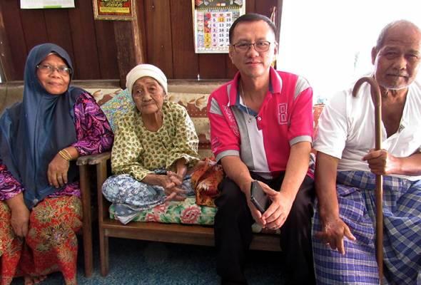 Ulam rahsia sihat warga emas berusia 102 tahun