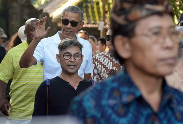 Obama, Michelle bercuti di Bali