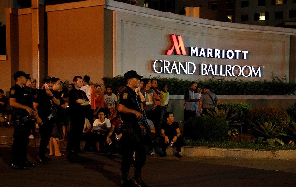 Manila, gunshots, shooting, explosion, Metro Manila, Philippines,