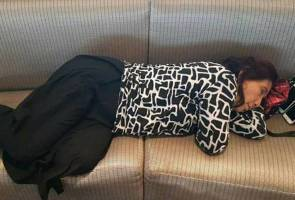 Photo of Indonesian minister dozing off in US airport goes viral