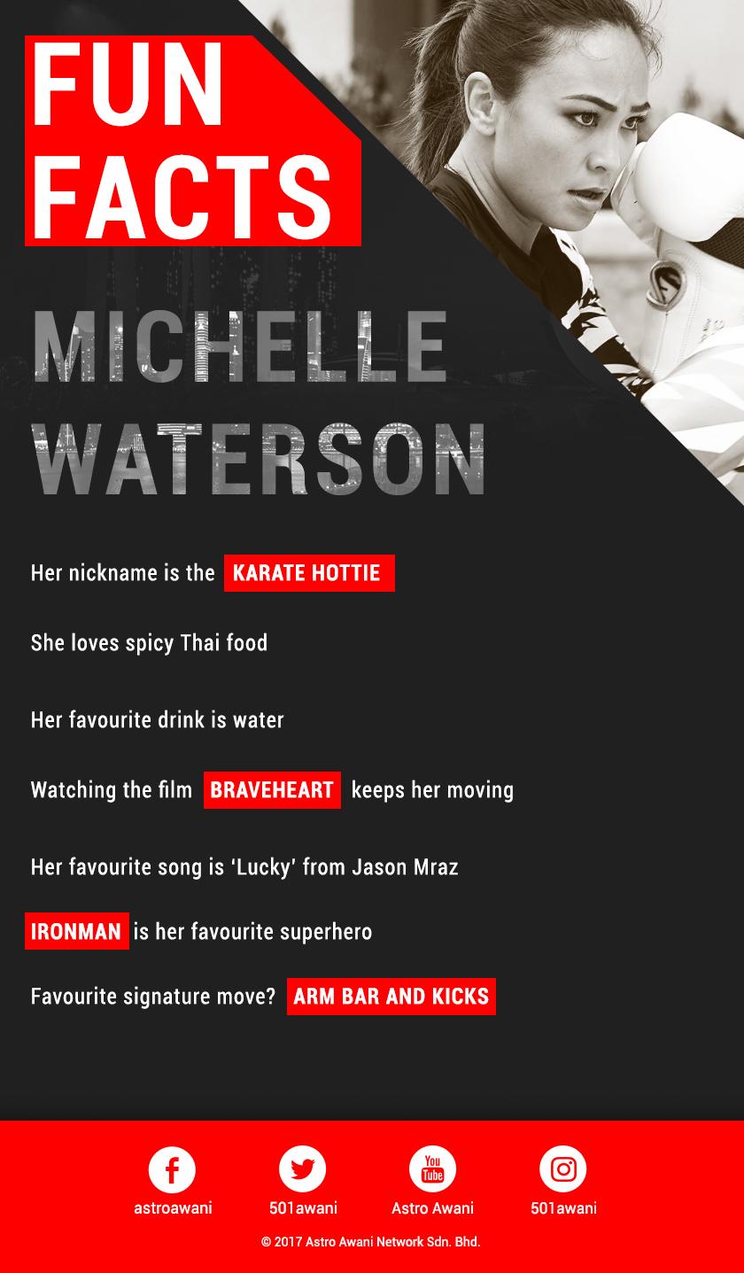 Michelle Waterson 'fun facts'
