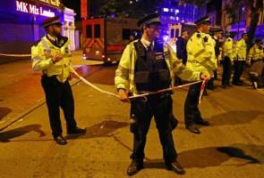 UK PM May says thoughts with those injured in incident near London mosque
