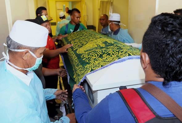 Jenazah suami isteri pandu Myvi dituntut keluarga