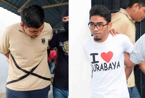 Dua peniaga online didakwa terlibat beri perkhidmatan kewangan untuk pengganas