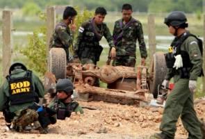 Pikap tentera Thai digempur bom 100kg, enam maut di Pattani