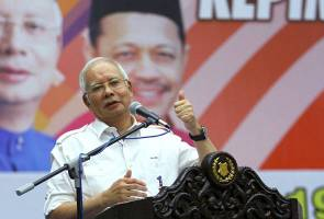 PAS likes UMNO's struggle which upholds dignity of Muslims and Islam - Najib