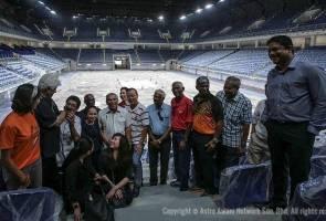 Atlet veteran Malaysia lawat kemudahan baharu di KL Sports City