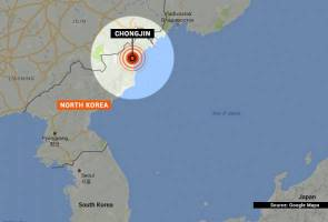 Rare magnitude 5.8 quake strikes off North Korea - USGS
