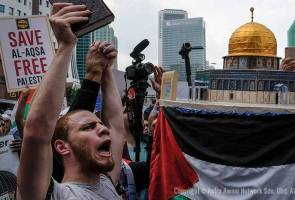 Peaceful assembly to protest Israel's violence in Al-Aqsa