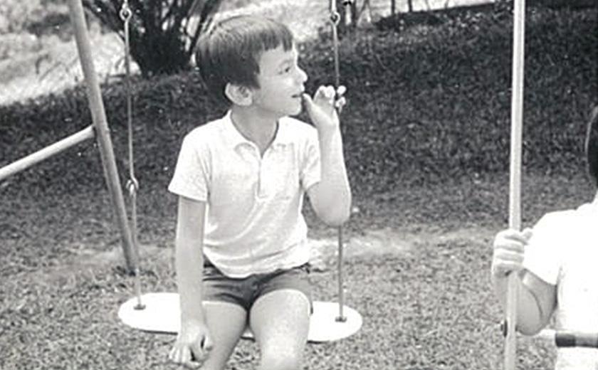 Penulis, Karim Raslan, sewaktu kecilnya.