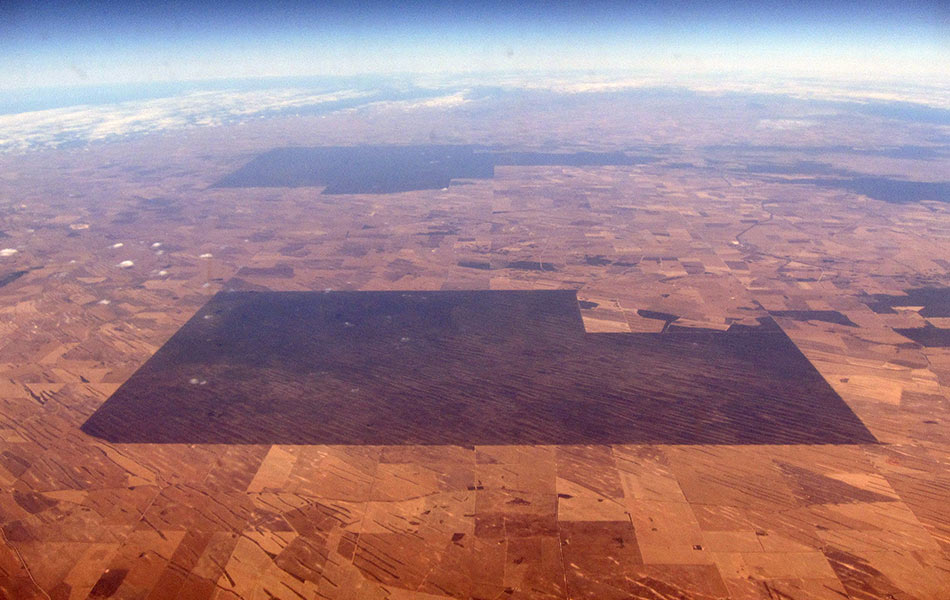 top, view, aerial, vegetation, drought, farmland, South Australia