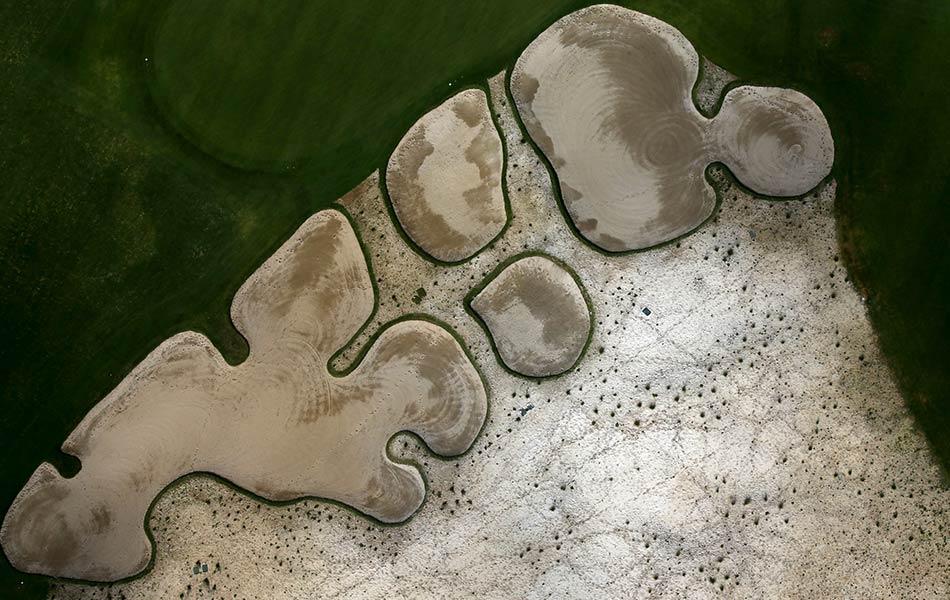 top, view, aerial, construction, site, Rio 2016 Olympic Golf, Rio De Janeiro, Brazil
