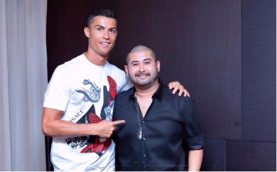 TMJ hadiri makan malam bersama Cristiano Ronaldo