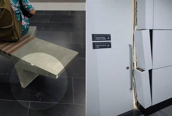 Tak Sampai 150 Jam Beroperasi, Stesen MRT Diancam Vandalisme