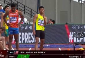 Abdul Latif defends gold medal, rewrites championship record at World Para Athletics meet