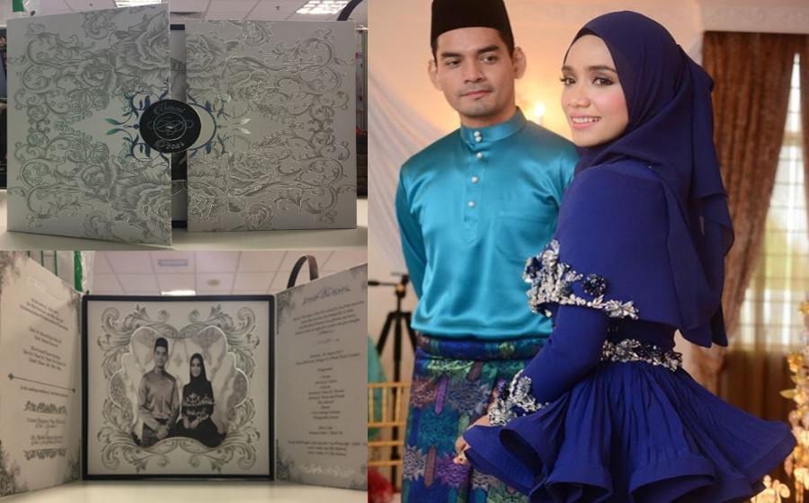 Kad kahwin Ummi Nazeera dan Dr Izzar bayangkan majlis Wedding Of The Year!