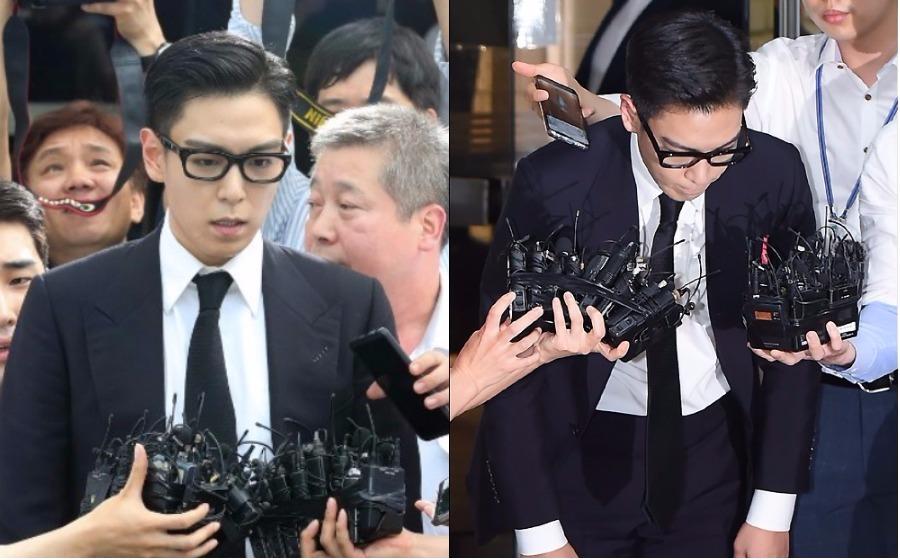 'Saya terima hukuman tersebut, maafkan saya' - T.O.P dihukum penjara