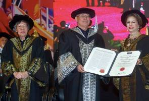 Riot conferred Honorary Doctorate in transformational leadership by Limkokwing University