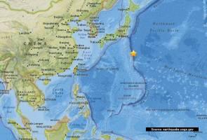 Gempa bumi sederhana landa tenggara Honshu