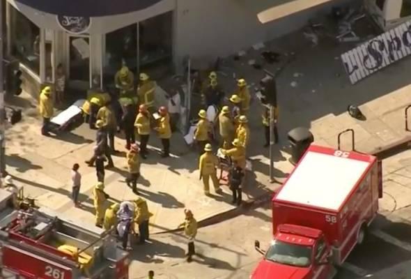 Van rempuh orang ramai di Los Angeles, sembilan cedera